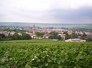 View of Épernay from Mont Bernon