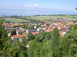 View of Gränna in 2005