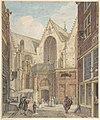 View of the Old Church of Amsterdam MET DP800681.jpg