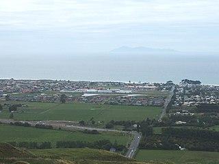Papamoa Suburb in Tauranga, New Zealand