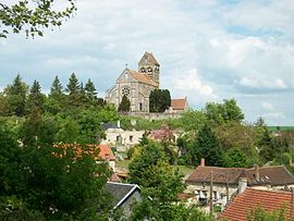 The village and church of Lesges