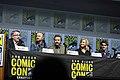 Vince Gilligan, Aaron Paul, Bryan Cranston, Anna Gunn & RJ Mitte (28716624987).jpg
