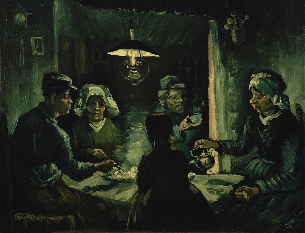 Vincent van Gogh - The potato eaters - Google Art Project