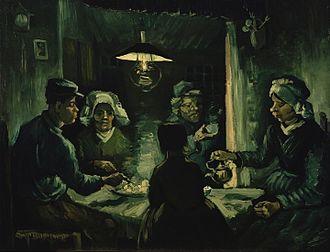 Kröller-Müller Museum - Image: Vincent van Gogh The potato eaters Google Art Project