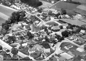 Vindinge, Roskilde Municipality - Vindinge in 1c. 1960