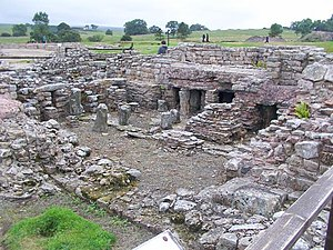 Vindolanda Roman fort. This fort is famous for...