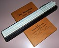 Vintage Dietzgen Maniphase Slide Rule, Model 1750P, Ten Inches, Made In USA, Circa 1938 (15756456315).jpg