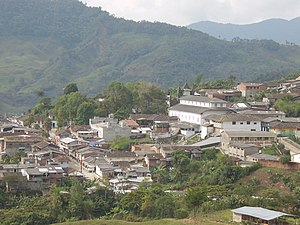 Argelia, Antioquia - Image: Vista de Argelia Antioquia