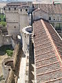 Vista de la liza del Castillo de Cuéllar.JPG