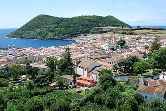 Azores - Angra do Heroísmo, the oldest continuously-settled town in the archipelago of the Azores and UNESCO World Heritage Site