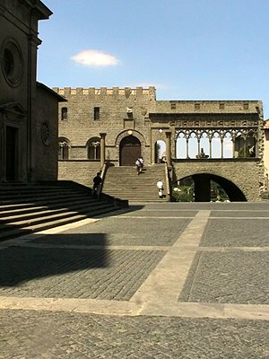 Pope Martin IV - The Cathedral and Episcopal Palace, Viterbo