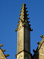 Vitré (35) Église Notre-Dame Façade sud 5ème pinacle.JPG