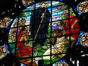 Vitral de l a Iglesia y Claustro de San Pedro Claver. Cartagena. Colombia
