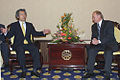 Vladimir Putin at APEC Summit in China 19-21 October 2001-15.jpg