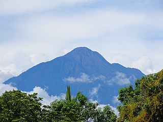 Volcán Tacaná mountain in Guatemala