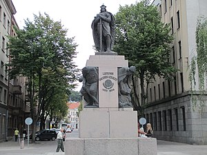 Vytautas the Great Monument in Kaunas