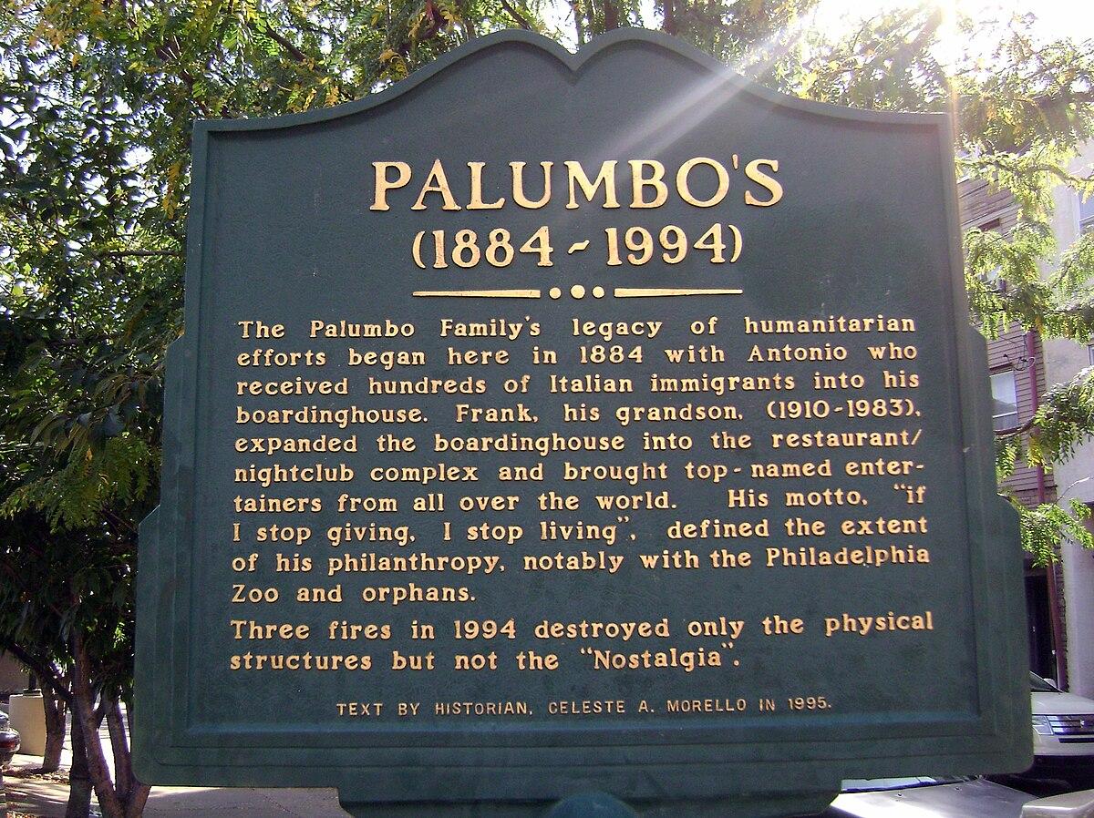 Palumbos Wikipedia