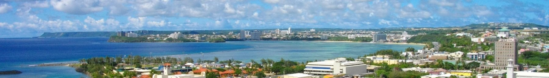 View of the City of Hagåtña
