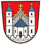 Das Wappen von Mellrichstadt