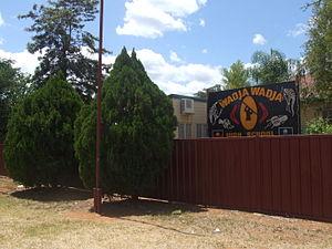 Woorabinda, Queensland - Wadja Wadja High School, Munns Dr.