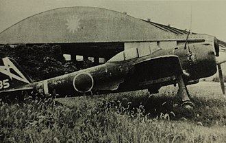 Nakajima Ki-43 - A captured Ki-43-IIIa of the 48th Sentai, postwar
