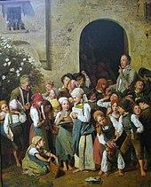Nach der Schule (1841), Alte Nationalgalerie, Berlin (Quelle: Wikimedia)
