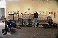 Wall of eurorack (more) @ AHBA2005.jpg