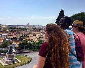 Walsh University - Walsh University students experience Rome. Photo from the Walsh University Office of Global Learning.