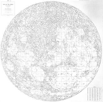 Walter Goodacre - Walter Goodacre's 1910 map of the Moon