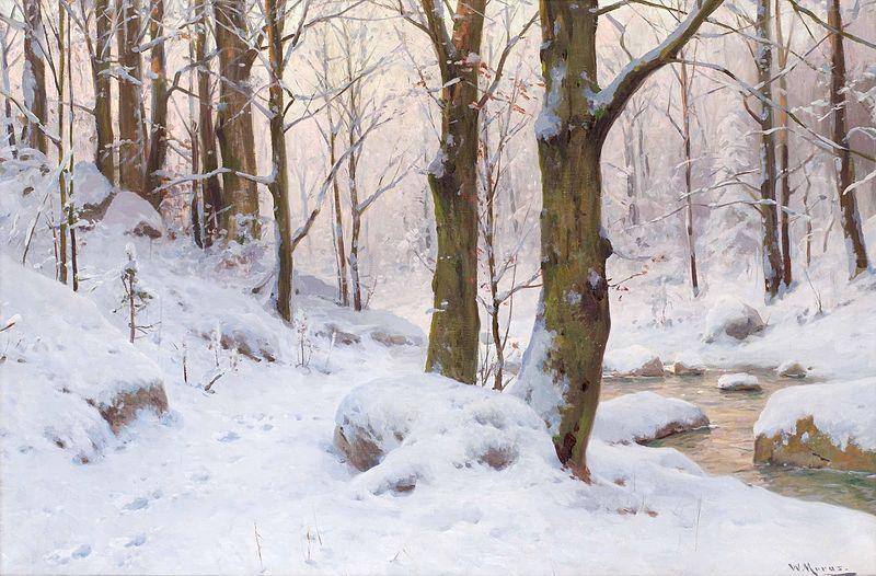 File:Walter Moras - Winterlandschaft.jpg