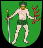 Das Wappen von Bad Muskau