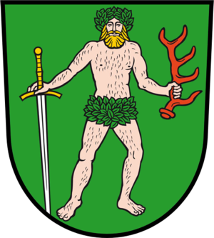 Bad Muskau - Image: Wappen Bad Muskau