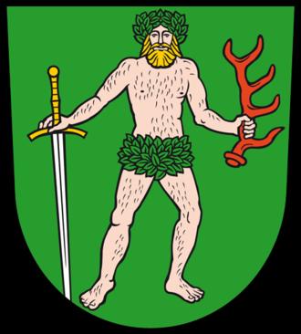 Bad Muskau - Image: Wappen Bad Muskau