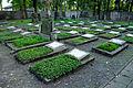Warszawa Reduta Wolska - cmentarz prawosławny - groby żołnierzy Armii Czerwonej.jpg