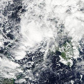 Tropical Storm Washi - Tropical Storm Washi in the Sulu Sea on December 17