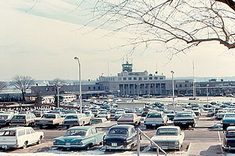 Ronald Reagan Washington National Airport - The airport in 1970