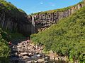 Waterfall Svartifoss - 2013.08 - panoramio.jpg