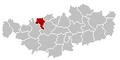 Waterloo Brabant-Wallon Belgium Map.png