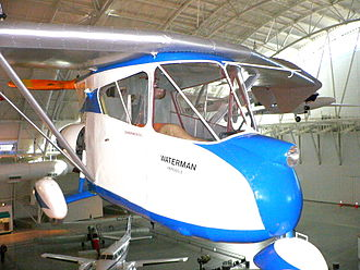 Roadable aircraft - The Waterman Arrowbile at the Smithsonian