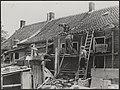 Watersnood 1953. Overal is men in de noodgebieden bezig, om die huizen welke men, Bestanddeelnr 059-1091.jpg