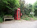 Watton, postbox No. DT6 63 and phone - geograph.org.uk - 1353680.jpg