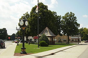 Triangle Park in Downtown Waukee