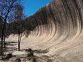 Wave rock in Western Australia.jpg