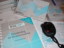 Wechsler Intelligence Scale for Children WISC-III NL 04.JPG