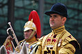 Wedding of Prince William of Wales and Kate Middleton trumpeter.jpg