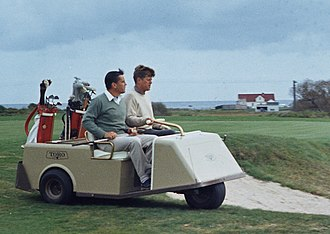 Ben Bradlee - Bradlee became friends with John F. Kennedy, golfing together in 1963