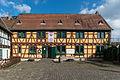 Weinstube Gelbes Haus, Burgstraße 3, Eltville, West view 20150222 1.jpg