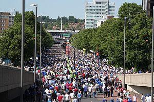 Olympic Way - Image: Wembley Way