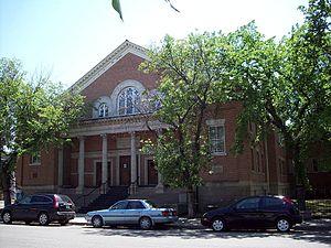 Neil R. Darrach - Built in 1913, the Westminster Presbyterian, later United, Church in Regina.