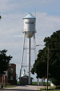 Wheatland Iowa 20090712 Water Tower.JPG